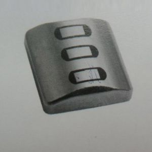Three-track read-only head 3.5mm